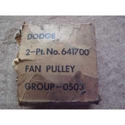 Fan pulley
