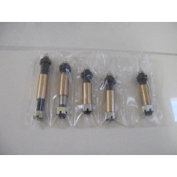 spring bolt complete set inl. bushes