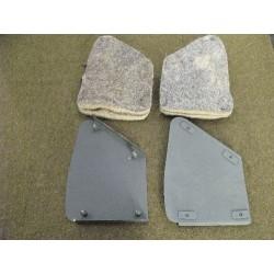 Hip pad set front L+R