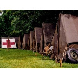 Small Wall tent original WWII