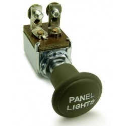 Panel light switch