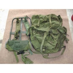 "Bagpack US ""large on frame"""