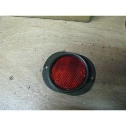 Reflector rood en oranje