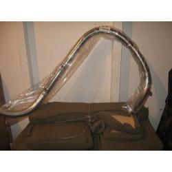 Exhaust pipe front flex
