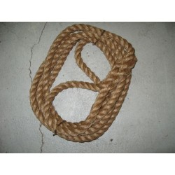 Towing rope hemp