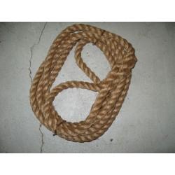 Towing rope hemp