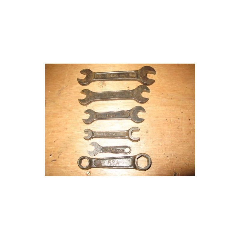 Complete set BSA spanners