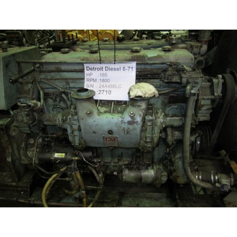 Engine Detroit diesel for Diamond-T Mover WW II