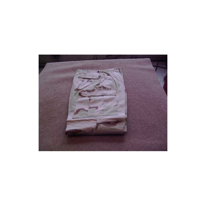 Trousers desert camo used US