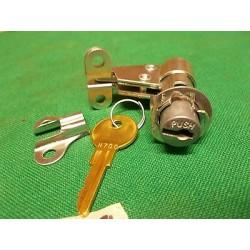 Toolbox lock and key