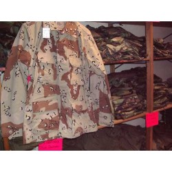 Jacket desert night camo US