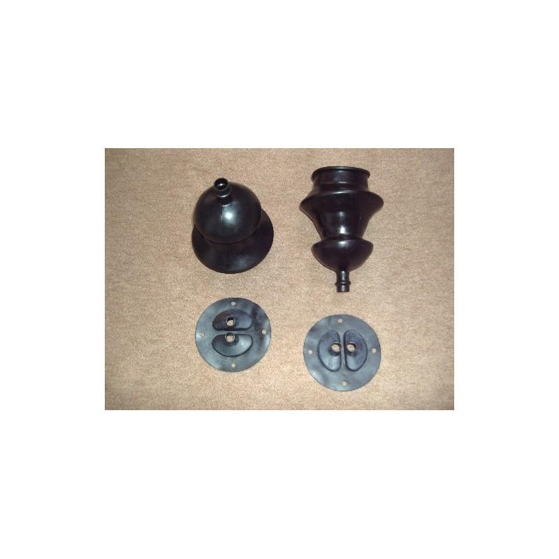 Rubber transmission case