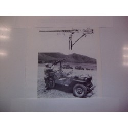 .50 craddle + ammotray + pedestal WWII