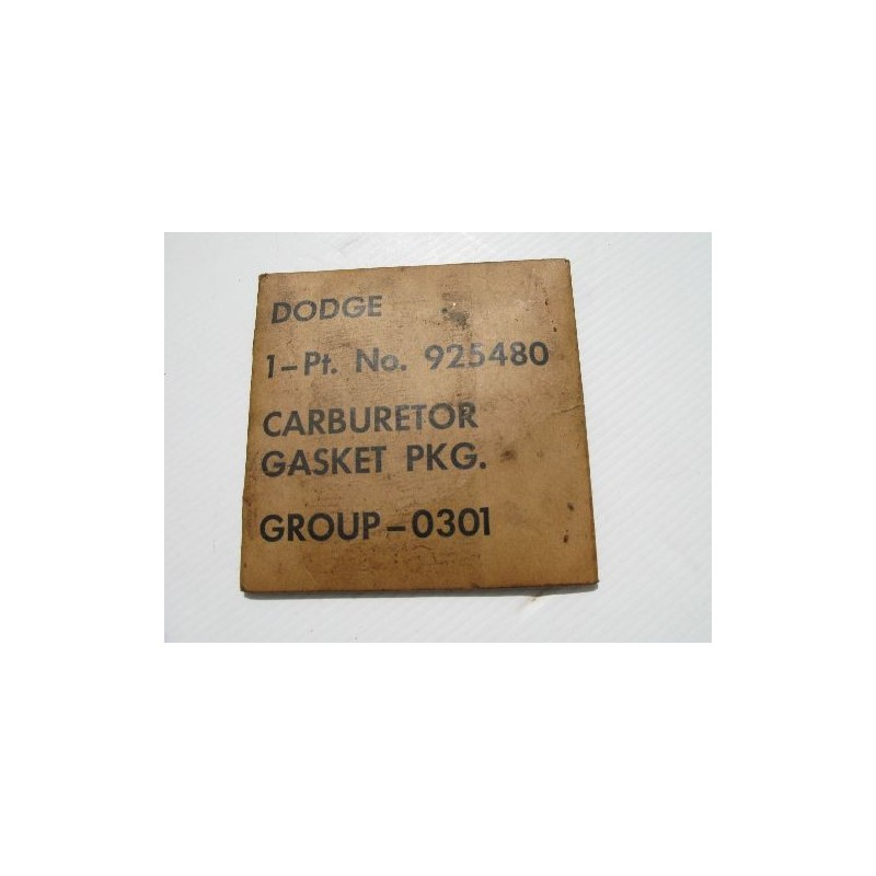 Gasket set Zenith carburator