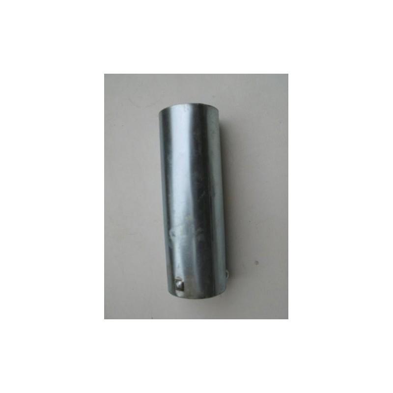 Fuel tank filler neck with filter