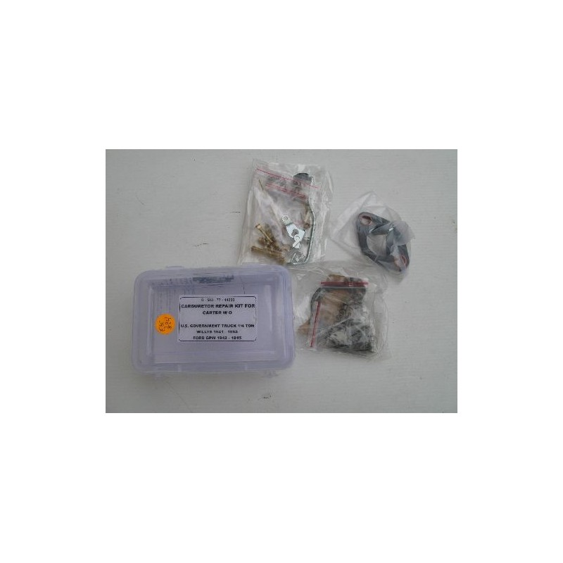 Carter carburator repair set