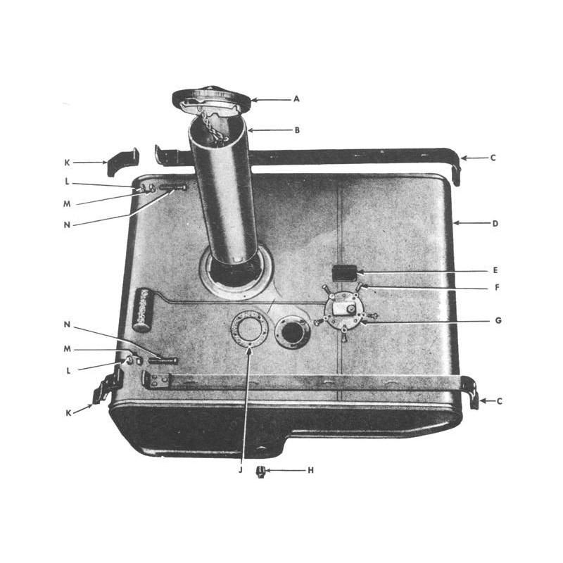 Benzinetank straps