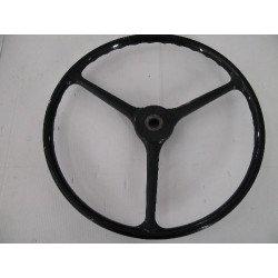 Steering wheel black