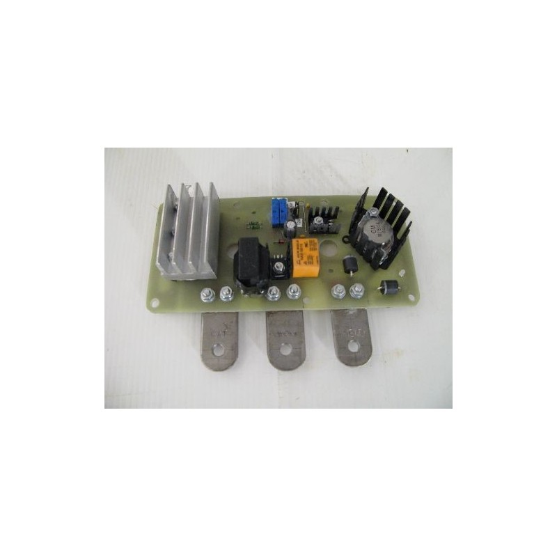 Electronic plate regulator