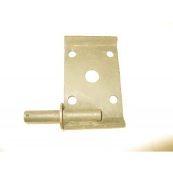 Plate rear spring seat w/shaft assy