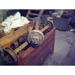 Axle for trailer Bantam WW II
