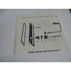 valve cover and ventilator