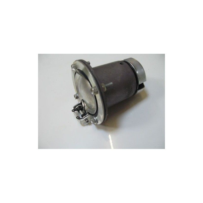 Socket Coupling 4-contact with hinged cover