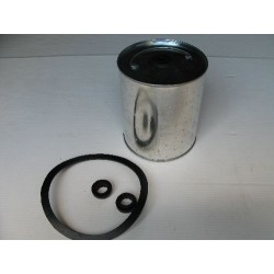 Oil filter with gasket