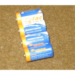 Battery Lithium CR123A