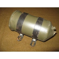 Oil filter housing with rings